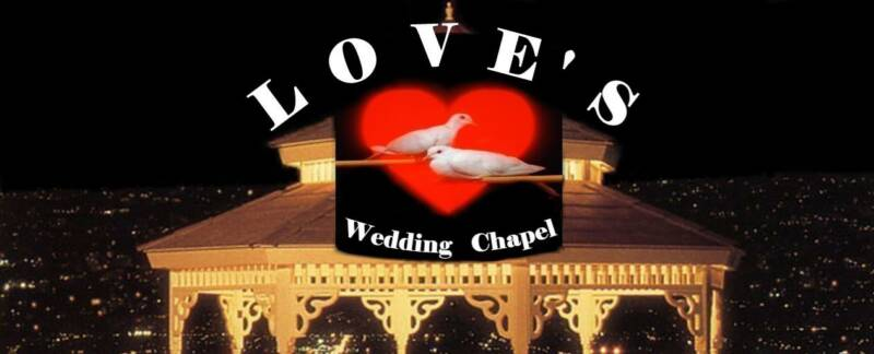 Love's Wedding Chapel Logo